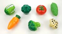 儿童趣味玩具乐园:水果、蔬菜切切乐,和孩子认识各种蔬菜与水果的名字!