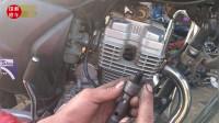 这才是摩托车启动不着后,最正确的修理方法,只需就2分钟修好故障