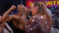 火爆!拳王泰森携UFC冠军大闹AEW摔角联盟
