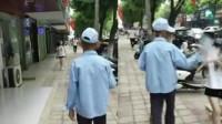 八旬老人街头猥亵过路女学生 行拘10日因满70岁不予执行