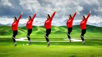 完整版 优柔广场舞原创第六套舞步健身操 正面版