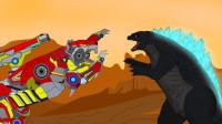 哥斯拉与机器人狼时代游戏漫游