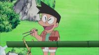 哆啦A梦:大雄请客流水素面,结果小夫的面更高级,大雄觉得很挫败