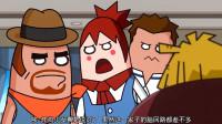 搞笑吃鸡动画:炸鸡少女说的没错,马可波这一家子的脑回路都差不多