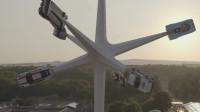 跑车做的风车,大家见过没?保时捷70年庆新出的产品!