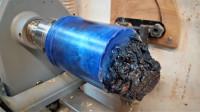 又是木头配环氧树脂,随便加工一下,都有意想不到的效果