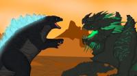 哥斯拉与原子呼吸的进化比较怪物排名最强
