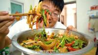 """一斤辣椒三个猪耳,大sao做红油""""顺风"""",一锅米饭一盆菜,过瘾"""