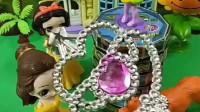 贝儿竟然拿着小仙女的魔法棒做坏事,小仙女知道后教育了她