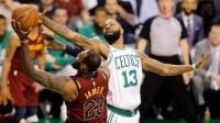 【NBA精华】两年前的今天!东决抢七詹姆斯最后挂人上篮成经典