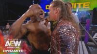 拳王泰森驾临AEW,与杰里科开战,恐怖的爆发力谁敢拉架?