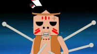 迷你世界动画:妮妮屋子终于建好,洞悲被野怪打死十几次