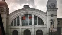 武汉汉口火车站钟楼下午3点报时