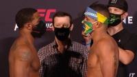 【UFC拉斯维加斯 | 称重对视】全员口罩,防护重要
