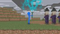 我的世界动画-如果火柴人玩TNT