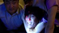 小明:韩国杀手被抓住,被踩住脚的他,想抱怨却无法沟通