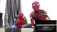 蜘蛛侠:蜘蛛侠一边看电影一边学习能学会吗?
