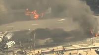 """""""黑人之死""""抗议持续 费城沦陷:示威者打砸抢烧、与警察对峙"""