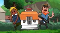 搞笑吃鸡动画:放心吧霸哥,他们要敢来我就让他们成为我的枪下亡魂