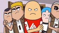 搞笑吃鸡动画:为什么要打你?看看你在背后都说了啥!达达长点心吧