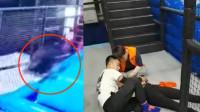 """90后女研究生玩网红蹦床摔成""""完全性瘫痪"""",事发监控记录全程"""