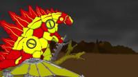 哥斯拉:地球超级英雄与机甲王吉多拉