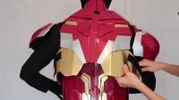 蜘蛛侠:国外男子试穿钢铁侠盔甲!