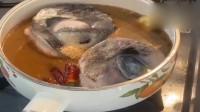 香港小伙红烧金枪鱼眼睛,做出来比肉还好吃,拿金枪鱼的眼睛红烧咱还是头一回见!