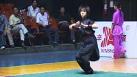 2005年全国武术套路冠军赛传统项目比赛 女子拳术 002 女子形意拳 王艳红(江西)第二名