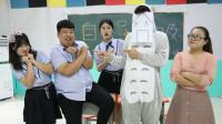 """全班学生都考试100分?老师不信竟带来""""测谎机器人"""",太逗了"""