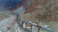 中国最难修建的公路,总长1300公里,却耗费了3万人20年时间!