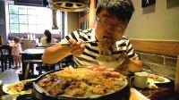 大sao下馆子吃烤肉,炸酱面先开胃,168元四人餐铺一桌,吃过瘾