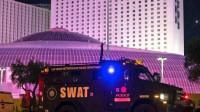 美国拉斯维加斯发生2起枪击案,2名中枪者中包括1名警察