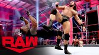 RAW1410:德鲁麦金泰尔释放眼神杀 肌肉狂人巴比莱斯利竟吓得后退