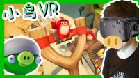 【XY小源VR】愤怒的小鸟VR 来玩弹弓