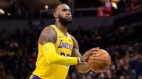 【NBA精华】湖人队惊魂一刻!詹姆斯两罚一中关键时刻他挺身而出