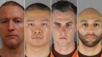 """罪名升级!美国""""黑人之死""""4名涉事警察均被捕:最高将面临40年监禁"""