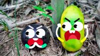 梨子被人咬了一口,桃子说要给它报仇,结果惨了!奇趣爆笑动画