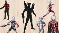 赛罗、捷德、贝利亚、欧布,一起为奥特曼找出他们的影子,奥特曼益智玩具!