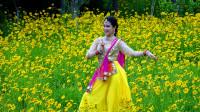 小姐姐跳印度舞,摆动着腹部,舞动着臀部,真是性感柔美,令人目不暇接【原创】