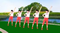 益馨广场舞《心上的姑娘》火爆网红健身舞,时尚弹跳36步,附分解教学