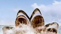 大鲨鱼竟长了五个头,一口吞掉直升机,网友:可以做剁椒鱼头吃!
