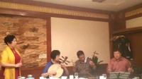 白潤霜学唱(洪洋洞)自那日,陈刚鼓师,琴师张红军,京二胡王宝山,月琴陈丽华。
