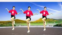 好听的网红健身舞《江湖酒》谁伴在我左右,弹跳舞步暴汗瘦身