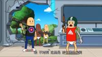 搞笑吃鸡动画:无名小队闯进博士的实验室,结果被博士整的生不如死