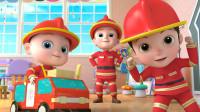 超级宝贝JOJO 第81集 我想成为消防员