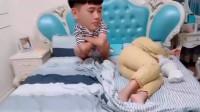 广东小伙半夜睡不着,是因为老婆怀孕呼噜声太大