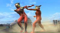 奥特曼格斗游戏:正义奥特曼对战格斗之王