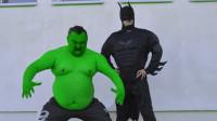 绿巨人美国蝙蝠侠