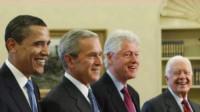 """罕见!美国四任前总统齐发声,呼吁反思国家的""""悲剧性失败"""""""